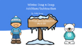 Winter Drag n Drop Addition/Subtraction