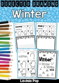 Winter Draw and Write Directed Drawings