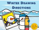 Winter Drawing Directions