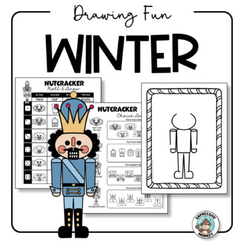Art Activity: Winter Drawing Fun {Easy Art Sub Plan}