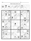 Winter Drawing Sudoku (4 Levels)