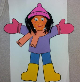Winter Dress-up, Poem and Art Sequencing Activities