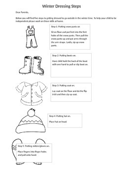 Winter Dressing Steps