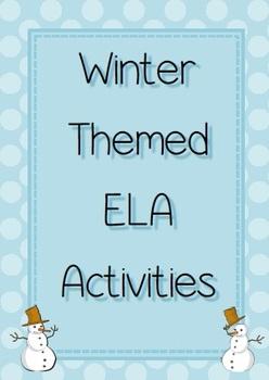 Winter ELA Activities