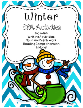 Winter ELA Activities