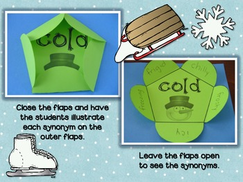 Winter ELA Flip Flaps