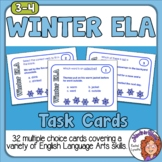 Winter ELA Task Cards