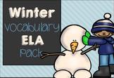 Winter ELA Vocabulary Pack