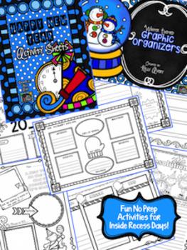 Winter ELA and Math Activities Bundle