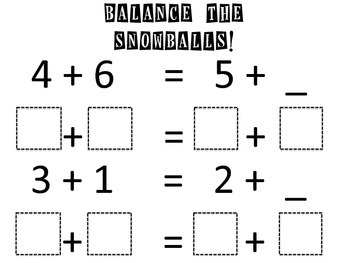 Winter ELA and Math Printables