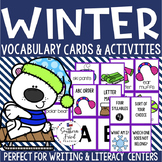 Winter Vocabulary Cards & Activities