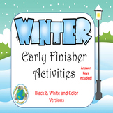 Winter Early Finisher Task Collection
