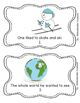 Winter Early Literacy Stories with Activities and Printables