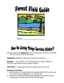 Winter Ecology Forest Field Guide