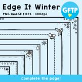 Edge It Borders - Winter Set