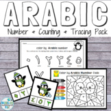 Arabic Number Activity Pack