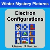 Winter: Electron Configurations - Mystery Pictures