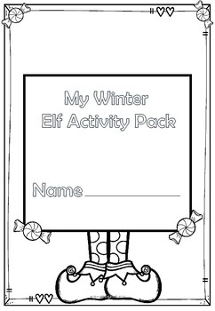 Winter Elf Activity Pack