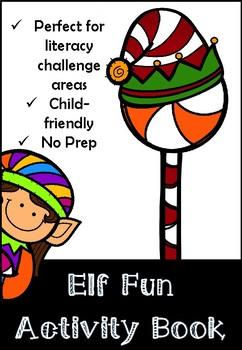 Winter Elf Activity Pack
