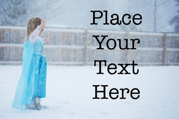 Winter Elsa Themed Images