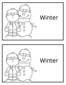 Emergent Reader- Winter