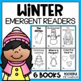 Winter Emergent Readers for Kindergarten BUNDLE