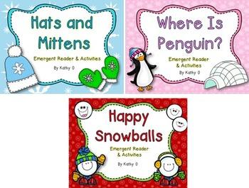 Emergent Reader Bundle - Winter Theme