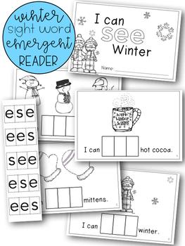 Winter Emergent Reader Bundle