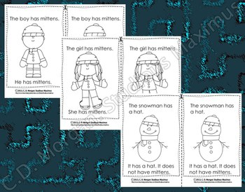 Winter – Emergent Reader. CCS Aligned