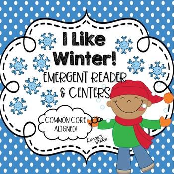 Winter Emergent Reader & Centers