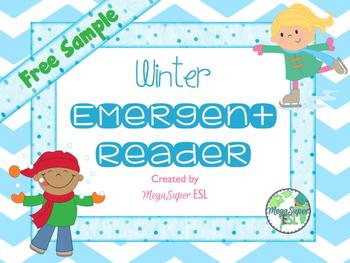Winter Emergent Reader **Freebie**