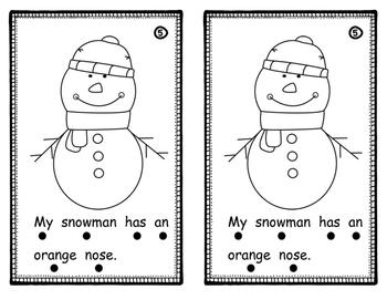 Winter Emergent Reader (Level B)