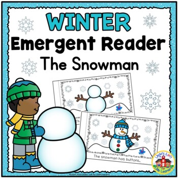 The Snowman Winter Emergent Reader