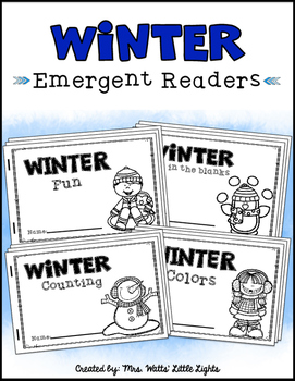 Winter Emergent Readers (4 Readers)