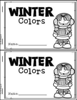 Winter Emergent Readers (4 Readers)
