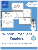 Winter Emergent Readers - 3 Versions