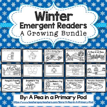 Winter Emergent Readers (A Growing Bundle)