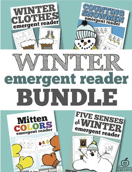 Winter Emergent Readers Bundle