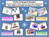 Winter Emergent Readers Pack
