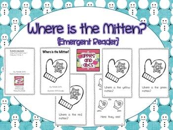 Winter Emergent Readers: Snowmen, Penguins, and Mittens