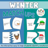 Winter Emotion Match-Up Puzzles