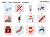 Winter English Flashcards