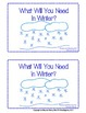 Winter English Language Arts Activities for Kindergarten