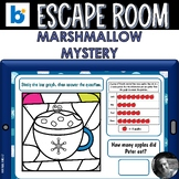 Winter Escape Room Boom Cards™- The Case of the Missing Ma