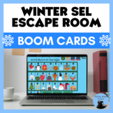 Winter Escape Room - Social-Emotional Learning Boom Cards!