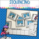 Winter Events Sequencing- Pictures and Writing