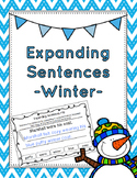 Winter Expanding Sentences