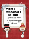 Winter Expository Writing Ideas and Templates