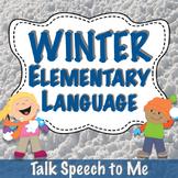 Winter Elementary Language Pack