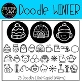 Winter FONT {Creative Clips Clipart}